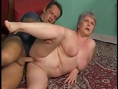 Plumper Ass-fuck GRANNY WITH..