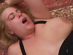 Plumper Blonde Buttfucked