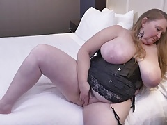 Meaty big-titted mom with..