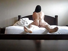 Chinese Wifey  Hard-on Butt..