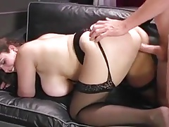 Brit BBW Ass-fuck