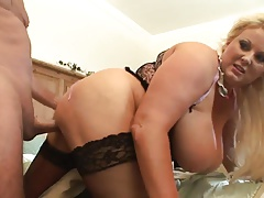 Blond mature fuck breasts 2