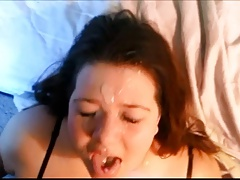Wanking-off on Her #49..