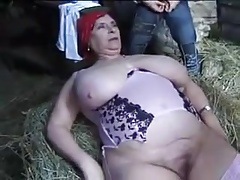FRENCH  GRANNY OLGA Plowed..