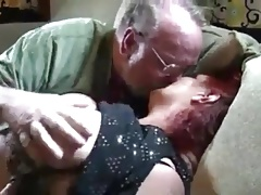 Old Plus-size Couple