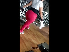 ginormous  in the gym