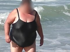 ssbbw granny in the  humid