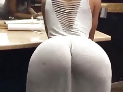 Butt in  moving