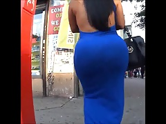 Latina   hefty backside
