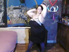 plus-size  in tights part 1