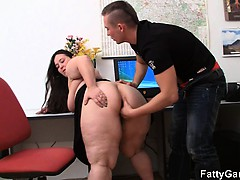 Bbw and client have fuckfest..