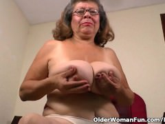 nylon gets granny Brenda in..