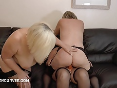 older ladies dual pounded