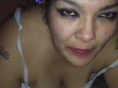 Ultra-kinky dickblowing wifey