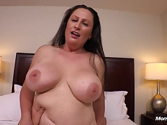 Big  Tits Mummy gets  Nailing