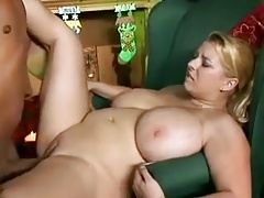 Sexy ash-blonde Plus-size..