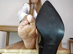 Killer mother feet...