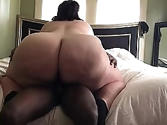 Bbw loves riding..